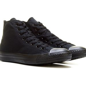 Converse All Black High Top Sneaker